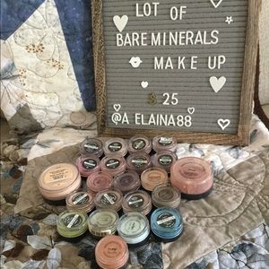 Lot of BareMinerals makeup
